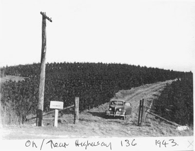 The new Highway 136, 1943